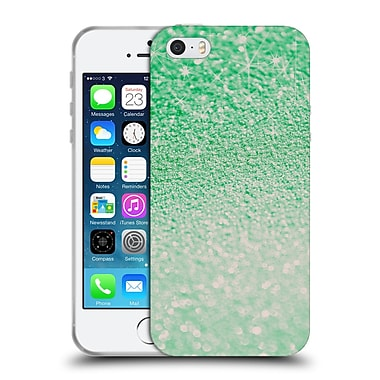 Official Monika Strigel Glitters Sea Green Soft Gel Case For Apple Iphone 5 / 5S / Se