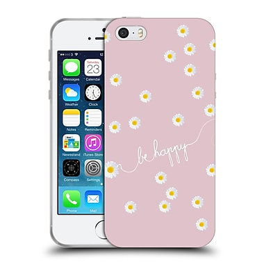 Official Monika Strigel Happy Daisy Blush Soft Gel Case For Apple Iphone 5 / 5S / Se
