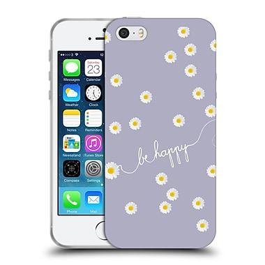 Official Monika Strigel Happy Daisy Lavender Soft Gel Case For Apple Iphone 5 / 5S / Se