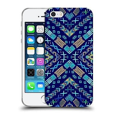 Official Monika Strigel Happy Echo Multi Blue 2 Soft Gel Case For Apple Iphone 5 / 5S / Se