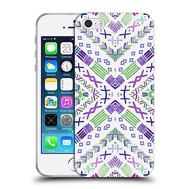 Official Monika Strigel Happy Echo Purple Soft Gel Case For Apple Iphone 5 / 5S / Se