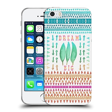 Official Monika Strigel Happy Quote Big Dreams Soft Gel Case For Apple Iphone 5 / 5S / Se