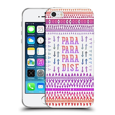 Official Monika Strigel Happy Quote Paradise Soft Gel Case For Apple Iphone 5 / 5S / Se