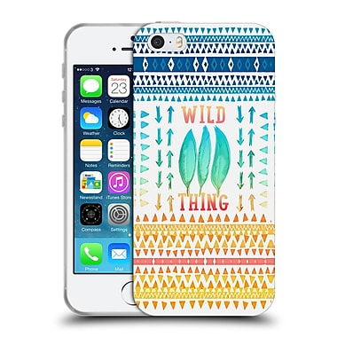 Official Monika Strigel Happy Quote Wild Thing Soft Gel Case For Apple Iphone 5 / 5S / Se