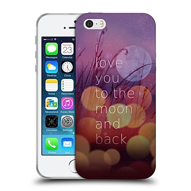 Official Monika Strigel Love Quote Light Soft Gel Case For Apple Iphone 5 / 5S / Se