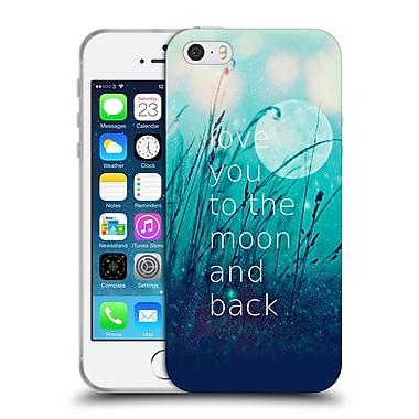 Official Monika Strigel Love Quote Mint Soft Gel Case For Apple Iphone 5 / 5S / Se