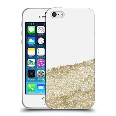 Official Monika Strigel Pretty Covered Gold Soft Gel Case For Apple Iphone 5 / 5S / Se
