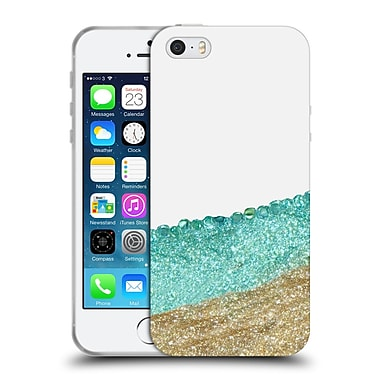 Official Monika Strigel Pretty Covered Mint Gold Soft Gel Case For Apple Iphone 5 / 5S / Se