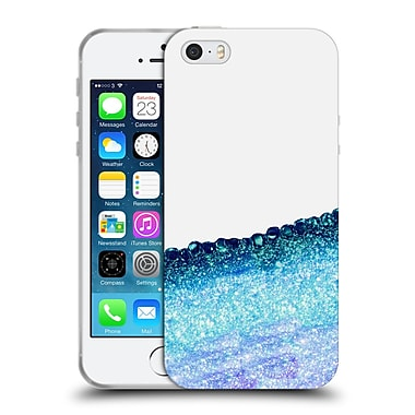 Official Monika Strigel Pretty Covered Ocean Blue Soft Gel Case For Apple Iphone 5 / 5S / Se