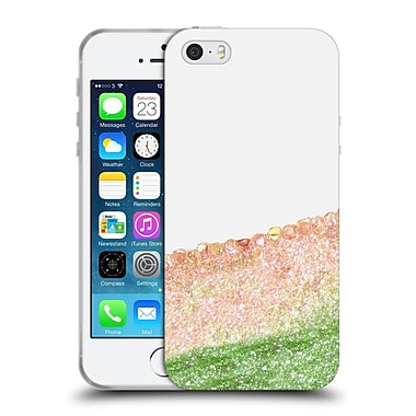 Official Monika Strigel Pretty Covered Peach Soft Gel Case For Apple Iphone 5 / 5S / Se