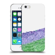 Official Monika Strigel Pretty Covered Purple Soft Gel Case For Apple Iphone 5 / 5S / Se