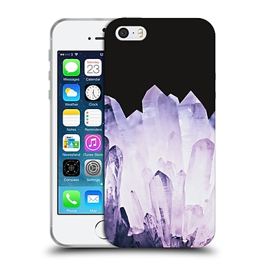 Official Monika Strigel Pure Crystal Amethyst Soft Gel Case For Apple Iphone 5 / 5S / Se