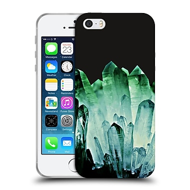 Official Monika Strigel Pure Crystal Dark Green Soft Gel Case For Apple Iphone 5 / 5S / Se
