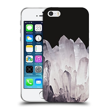 Official Monika Strigel Pure Crystal Silver Soft Gel Case For Apple Iphone 5 / 5S / Se