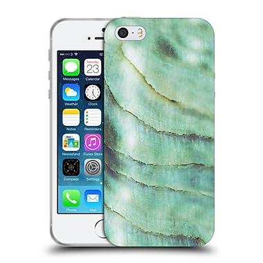 Official Monika Strigel Pastel Seashell Emerald Soft Gel Case For Apple Iphone 5 / 5S / Se