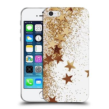 Official Monika Strigel Shaky Stars Gold Soft Gel Case For Apple Iphone 5 / 5S / Se