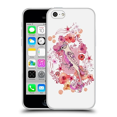 Official Monika Strigel Animals And Flowers Bird Soft Gel Case For Apple Iphone 5C