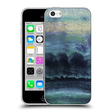 Official Monika Strigel Agate Gemstone Blue Soft Gel Case For Apple Iphone 5C