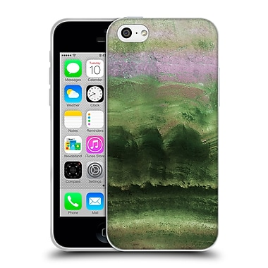 Official Monika Strigel Agate Gemstone Emerald Soft Gel Case For Apple Iphone 5C