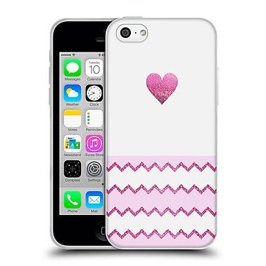 Official Monika Strigel Avalon Heart Pink Soft Gel Case For Apple Iphone 5C