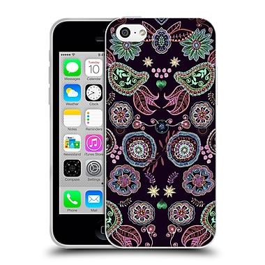 Official Monika Strigel Bring Me Flowers Black Soft Gel Case For Apple Iphone 5C