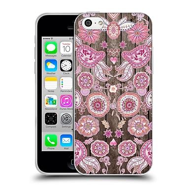Official Monika Strigel Bring Me Flowers 3 Pink Soft Gel Case For Apple Iphone 5C