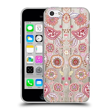 Official Monika Strigel Bring Me Flowers 3 Pink 3 Soft Gel Case For Apple Iphone 5C