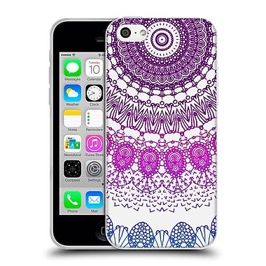 Official Monika Strigel Boho Lace Purple Soft Gel Case For Apple Iphone 5C