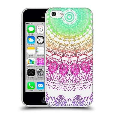 Official Monika Strigel Boho Lace Rainbow 2 Soft Gel Case For Apple Iphone 5C