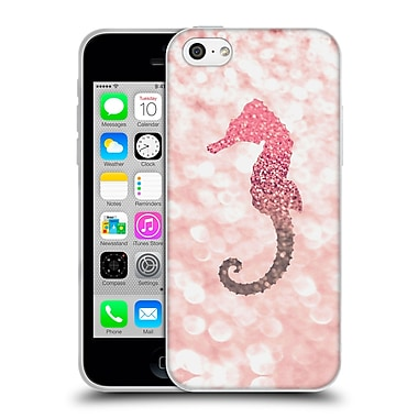 Official Monika Strigel Champagne Glitters 2 Seahorse Rose Soft Gel Case For Apple Iphone 5C