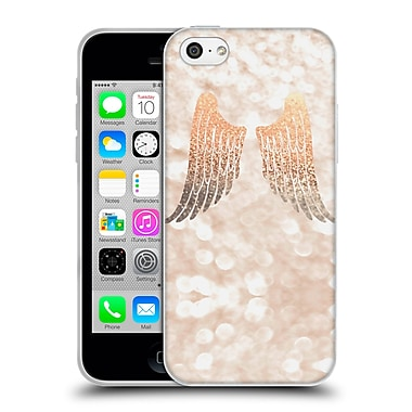 Official Monika Strigel Champagne Gold Wings Soft Gel Case For Apple Iphone 5C