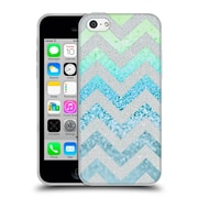 Official Monika Strigel Funky Chevron Tiffany Blue Soft Gel Case For Apple Iphone 5C