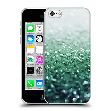 Official Monika Strigel Frozen Glitter Emerald Soft Gel Case For Apple Iphone 5C