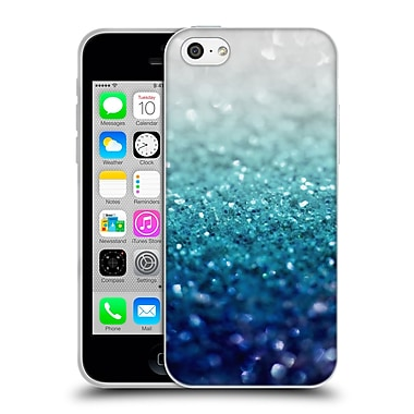 Official Monika Strigel Frozen Glitter Teal Soft Gel Case For Apple Iphone 5C