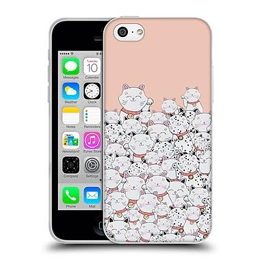 Official Monika Strigel Find The Panda Peach Soft Gel Case For Apple Iphone 5C
