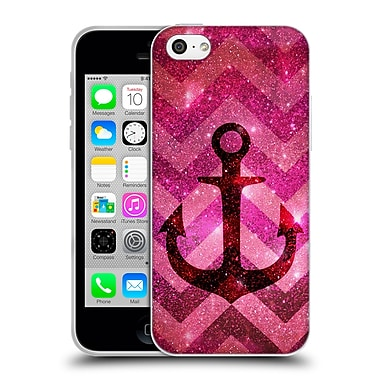 Official Monika Strigel Galaxy Anchors Coral Soft Gel Case For Apple Iphone 5C