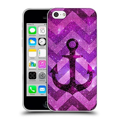 Official Monika Strigel Galaxy Anchors Lavender Soft Gel Case For Apple Iphone 5C