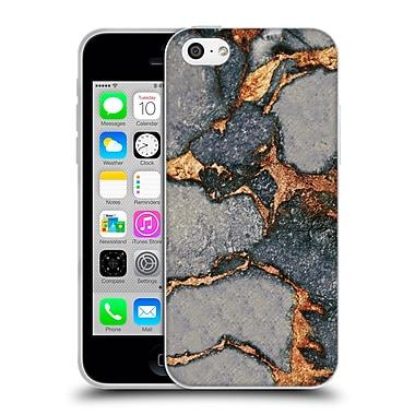 Official Monika Strigel Gemstone And Gold Grey Soft Gel Case For Apple Iphone 5C