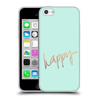 Official Monika Strigel Gold And Happy Mint Soft Gel Case For Apple Iphone 5C