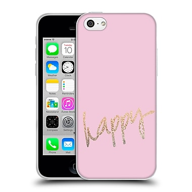 Official Monika Strigel Gold And Happy Pink Soft Gel Case For Apple Iphone 5C