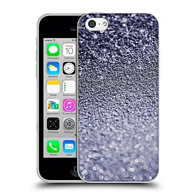 Official Monika Strigel Glitters Dark Silver Soft Gel Case For Apple Iphone 5C