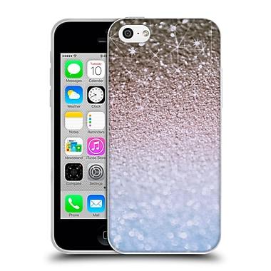 Official Monika Strigel Glitters Glamour Blue Soft Gel Case For Apple Iphone 5C