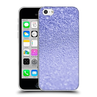 Official Monika Strigel Glitters Lavender Soft Gel Case For Apple Iphone 5C
