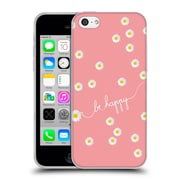 Official Monika Strigel Happy Daisy Coral Soft Gel Case For Apple Iphone 5C