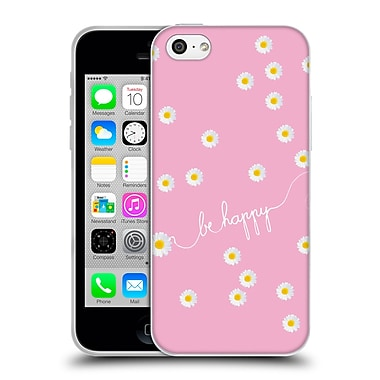 Official Monika Strigel Happy Daisy Pink Soft Gel Case For Apple Iphone 5C