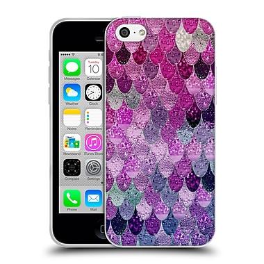 Official Monika Strigel Happy Mermaid Pink And Lavander Soft Gel Case For Apple Iphone 5C