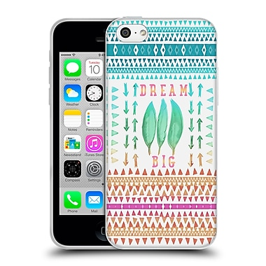 Official Monika Strigel Happy Quote Big Dreams Soft Gel Case For Apple Iphone 5C