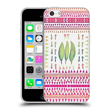 Official Monika Strigel Happy Quote Be Happy Soft Gel Case For Apple Iphone 5C