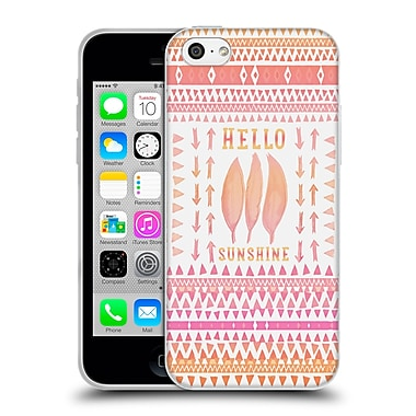 Official Monika Strigel Happy Quote Hello Sunshine Soft Gel Case For Apple Iphone 5C