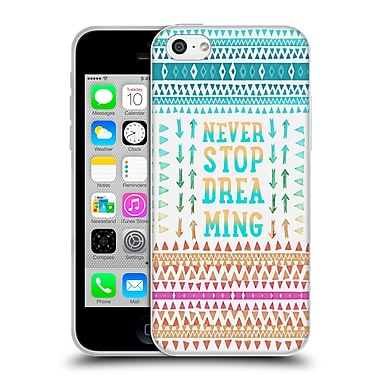 Official Monika Strigel Happy Quote Never Stop Dreaming Soft Gel Case For Apple Iphone 5C